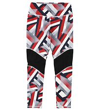Tommy Hilfiger Leggings - Red/Navy w. Stars