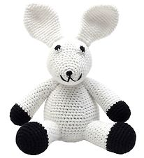 NatureZoo Soft Toy - Rabbit - White