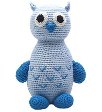 NatureZoo Soft Toy - Owl - Light Blue