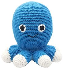 NatureZoo Soft Toy - Squid - Blue