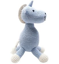 NatureZoo Soft Toy - Unicorn - Light Blue