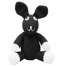 NatureZoo Soft Toy - Rabbit - Black