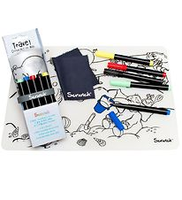 Scrunch Travel Colouring Mat - Silicone - By The