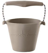 Scrunch Bucket - Silicone - 13 cm - Light Grey