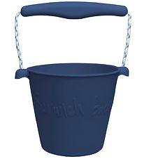 Scrunch Bucket - Silicone - 13 cm - Dark Blue