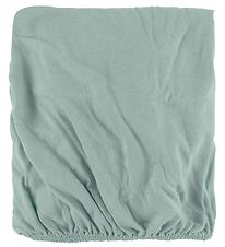 Nørgaard Madsens Bed Sheet - 40x98 - Dusty Blue