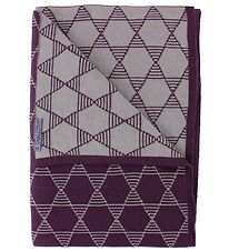 Smallstuff Blanket - 70x100 - Plum Pattern
