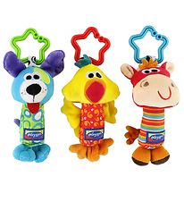 Playgro Clip Toy - 3-Pack - Tinkle Trio