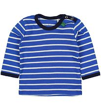 Freds World Blouse - Blue Striped