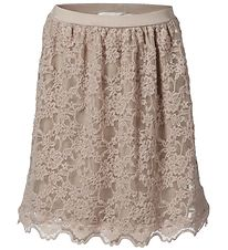 Rosemunde Skirt - Rose w. Lace