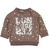 Petit by Sofie Schnoor Sweatshirt - Dusty Purple w. Gold