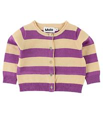 Molo Cardigan - Glenda - Hyacinth Striped