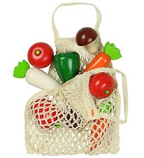 Haba Play Food - Shopping Bag w. Vegetables