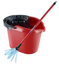 Vileda Junior Bucket w. Mop - Toys - Red