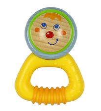 Haba Rattle - Wood - Yellow/Blue