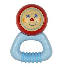 Haba Rattle - Wood - Red Blue