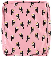 Småfolk Chaging Pad Cover - Rose w. Toucan