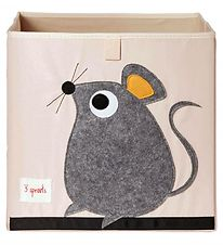 3 Sprouts Storage Box - 33x33x33 - Mouse