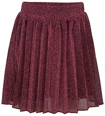 Petit by Sofie Schnoor Tulle Skirt - Bordeaux w. Glitter