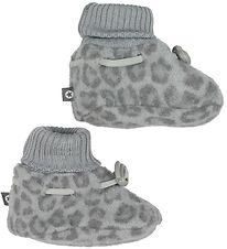 Smallstuff Booties - Wool - Grey Leo