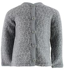 Smallstuff Cardigan - Wool - Grey Leo