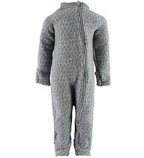 Smallstuff Pramsuit - Wool - Grey Leo