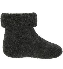 Smallstuff Baby Socks - Wool - Charcoal