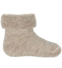 Smallstuff Baby Socks - Wool - Sand