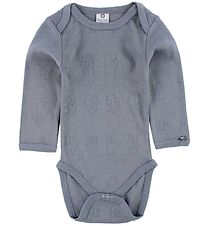 Smallstuff Bodysuit L/S - Dusty Blue