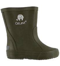 CeLaVi Rubber Boots - Basic - Army Green