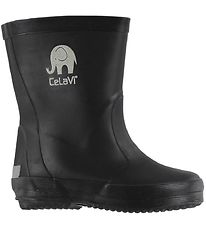 CeLaVi Rubber Boots - Basic - Black