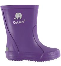 CeLaVi Rubber Boots - Basic - Purple