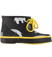 CeLaVi Rubber Boots - Black w. Elephants