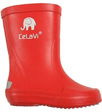 CeLaVi Rubber Boots - Basic - Red