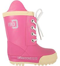 Didriksons Rubber Boots - Pink w. Ivory
