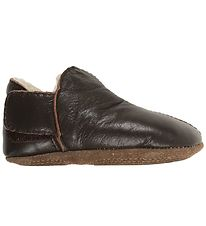 En Fant Soft Sole Leather Shoes w. Lining - Brown