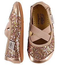 Petit by Sofie Schnoor Ballerina Slippers - Leather - Copper Gli