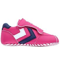 Hummel Slippers - HMLPre Runner - Pink/Navy/White