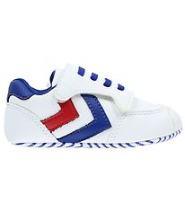 Hummel Slippers - Pre Runner - White/Navy/Red
