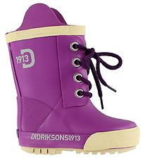 Didriksons Rubber Boots - Dark Cerise