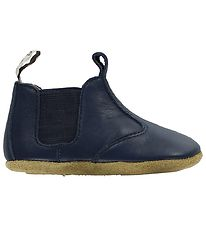 Bisgaard Soft Sole Leather Shoes - Blue
