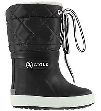 Aigle Thermo Boots - Giboulee - Black