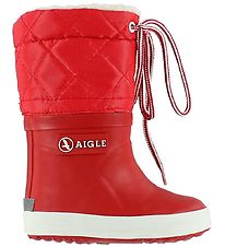 Aigle Thermo Boots - Giboulee - Red