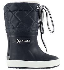Aigle Thermo Boots - Giboulee - Navy