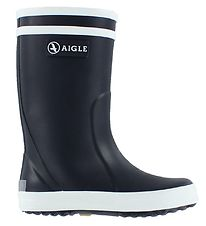 Aigle Rubber Boots - Lolly Pop - Navy