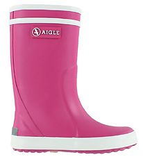 Aigle Rubber Boots - Lolly Pop - Rose