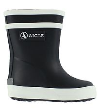 Aigle Rubber Boots - Baby Flac - Navy