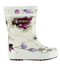 Aigle Rubber Boots - Baby Flac - Wildflower