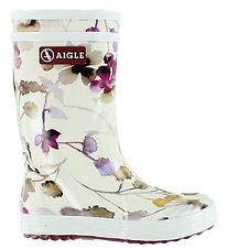Aigle Rubber Boots - Lolly Pop - Wildflower
