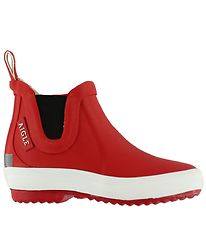 Aigle Rubber Boots - Lolly Chelsea - Red